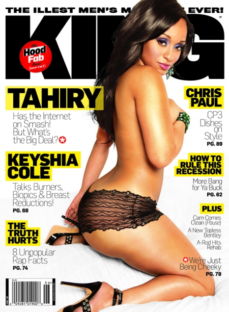 Tahiry on Black Men Mag